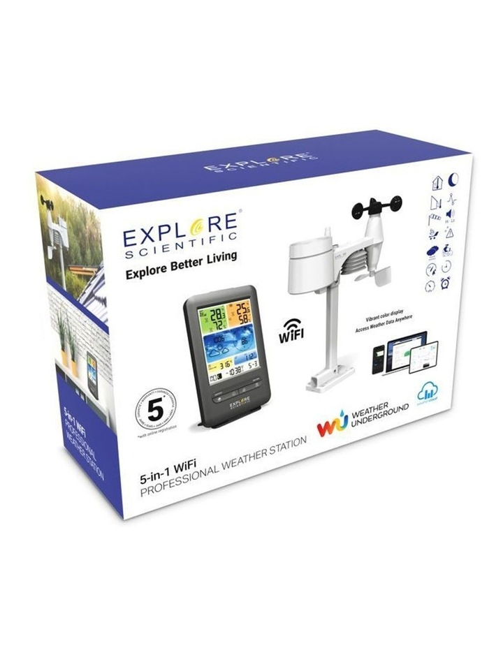 WSX1001 5-In-1 Professional Weather Station image 4