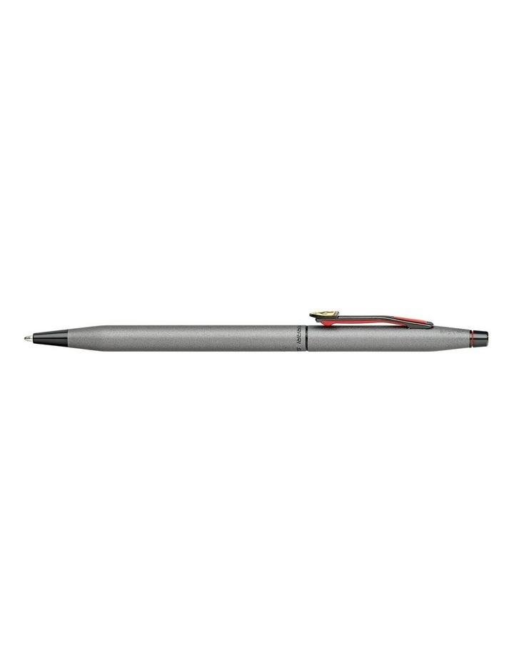 Cross Classic Century Collection for Scuderia Ferrari Titanium Gray Satin Lacquer Ballpoint Pen image 2