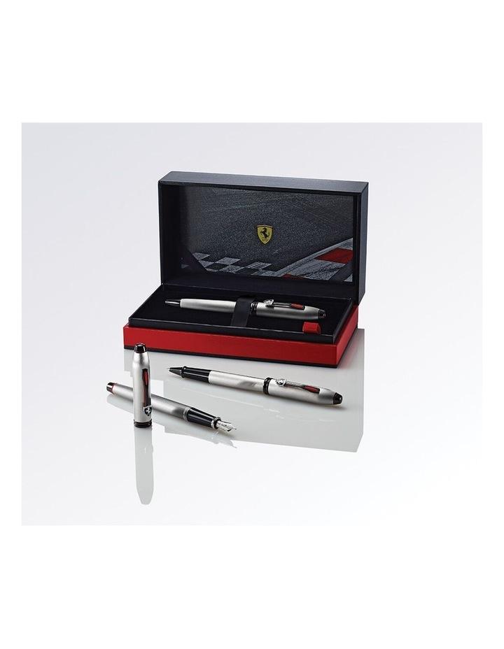 Cross Townsend Collection for Scuderia Ferrari Brushed Aluminum Fountain Pen image 6