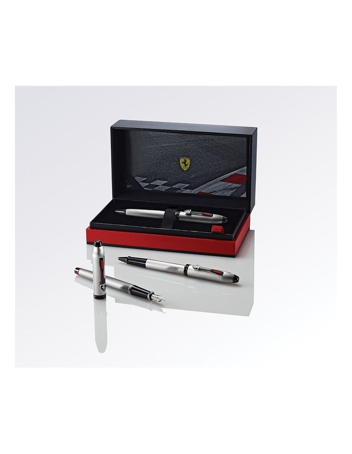 Cross Townsend Collection for Scuderia Ferrari Brushed Aluminum Ballpoint Pen image 4