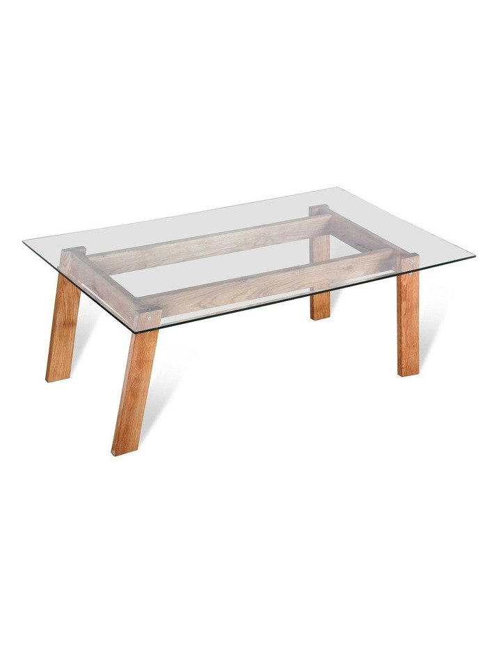 Marvel Glass and Wood Coffee Table image 1