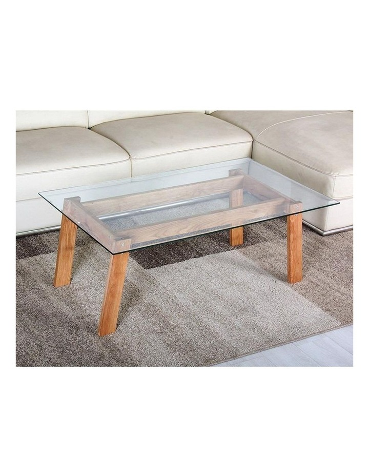 Marvel Glass and Wood Coffee Table image 2