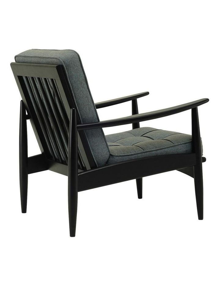 Ripon Replica Mid-Century Armchair in Whale image 2