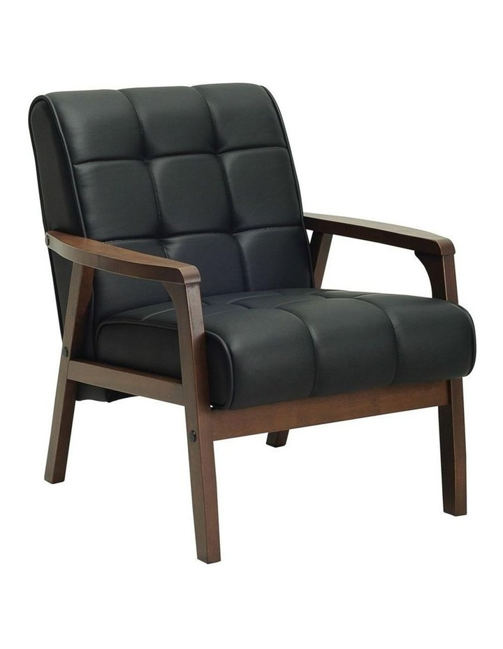 Tucson Armchair in Black image 1