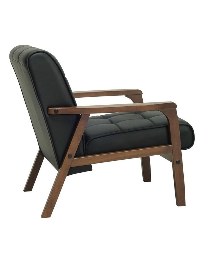 Tucson Armchair in Black image 2