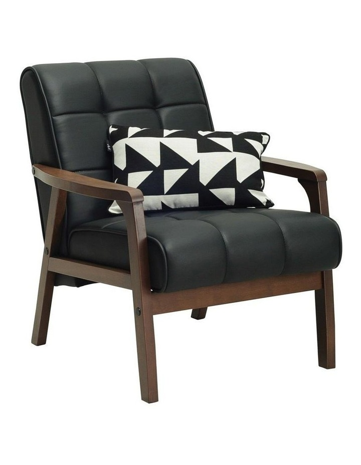 Tucson Armchair in Black image 3