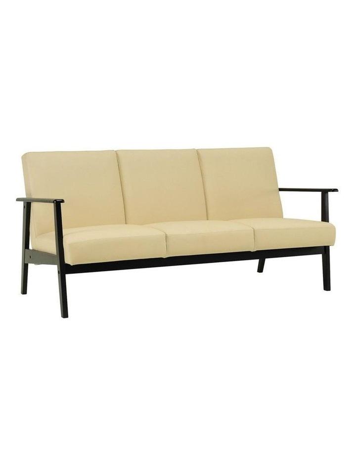 Telford 3 Seater Sofa in Cream image 1