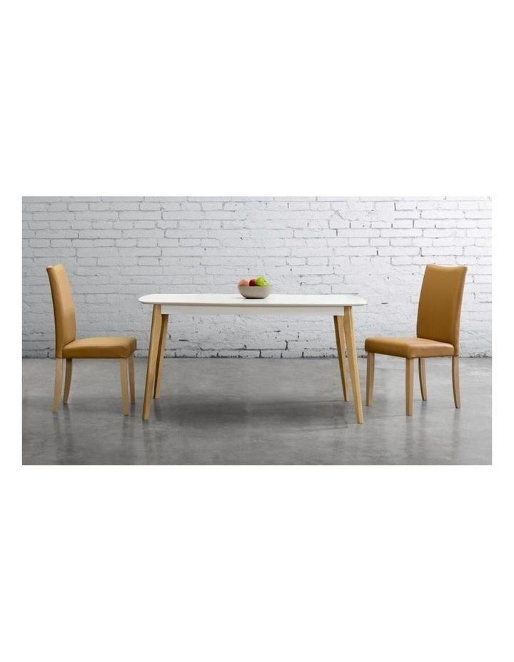 ARTHUR Dining Table 1.5M - White image 2