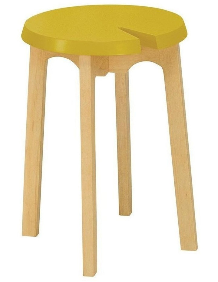 CHEVIS Stool  - Olive Yellow image 1