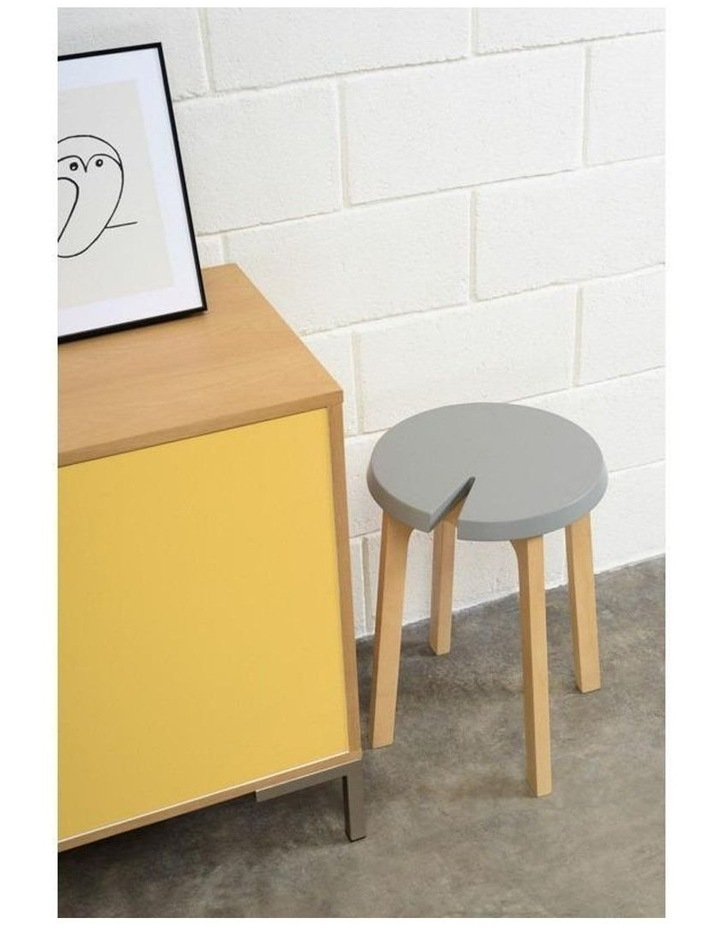 CHEVIS Stool  - Olive Yellow image 2
