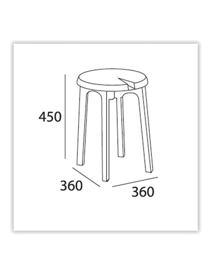 CHEVIS Stool  - Olive Yellow image 3