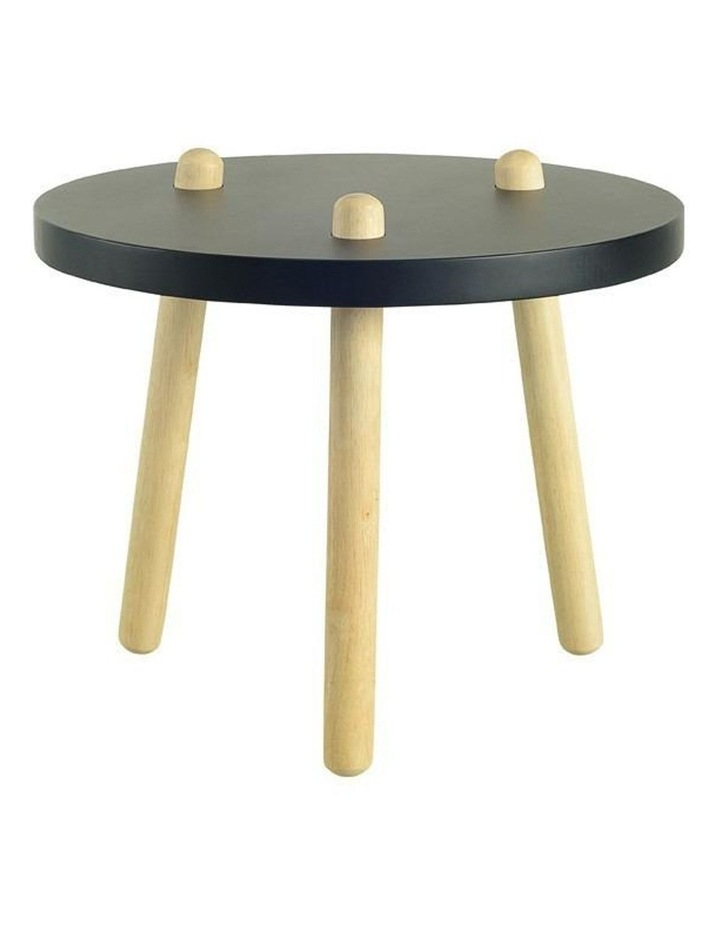Kimi Black Round Coffee / Side Table image 1