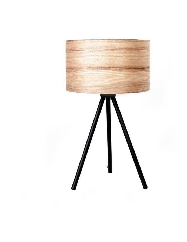 Wooden Ash Table Lamp image 1