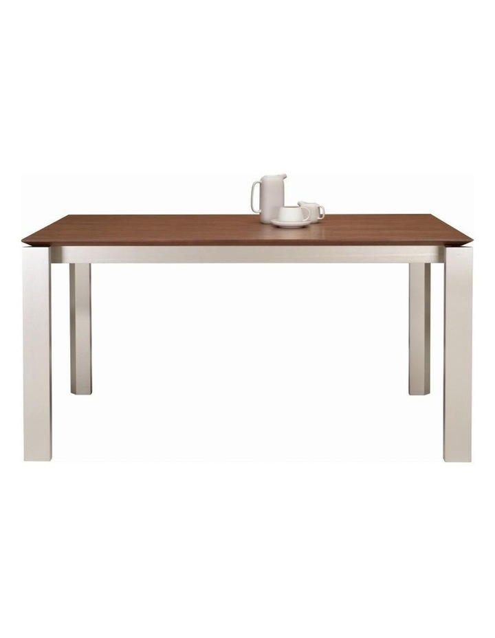 ELWOOD Dining Table 1.5M - Taupe Grey image 2
