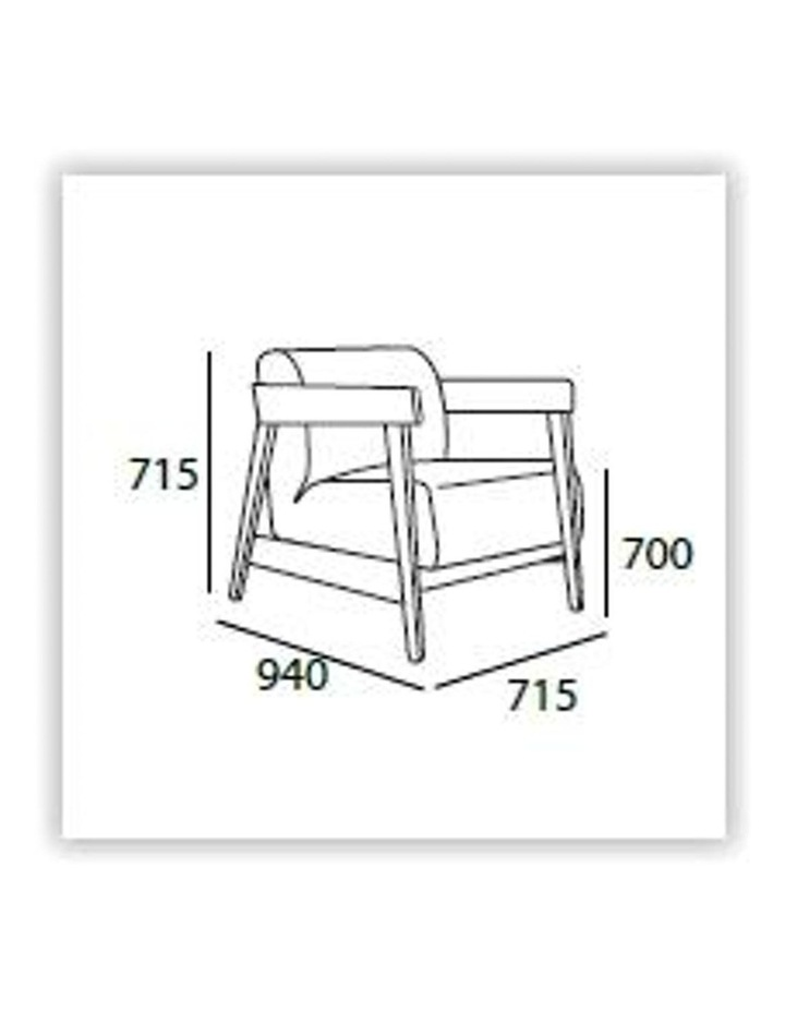 DAEWOOD Lounge Chair - Midnight Blue image 4