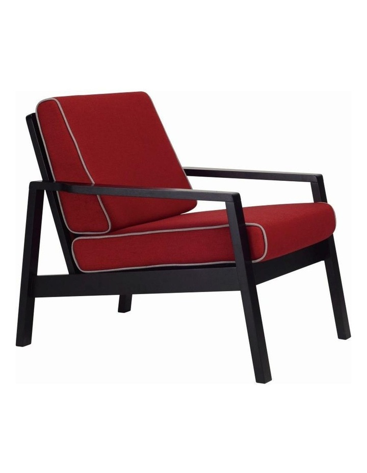 Latio Lounge Chair In Crimson image 1