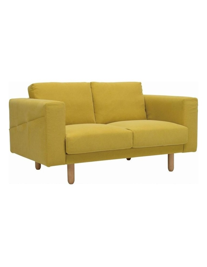 Minex 2 Seater Sofa - Natural   Turmeric image 1