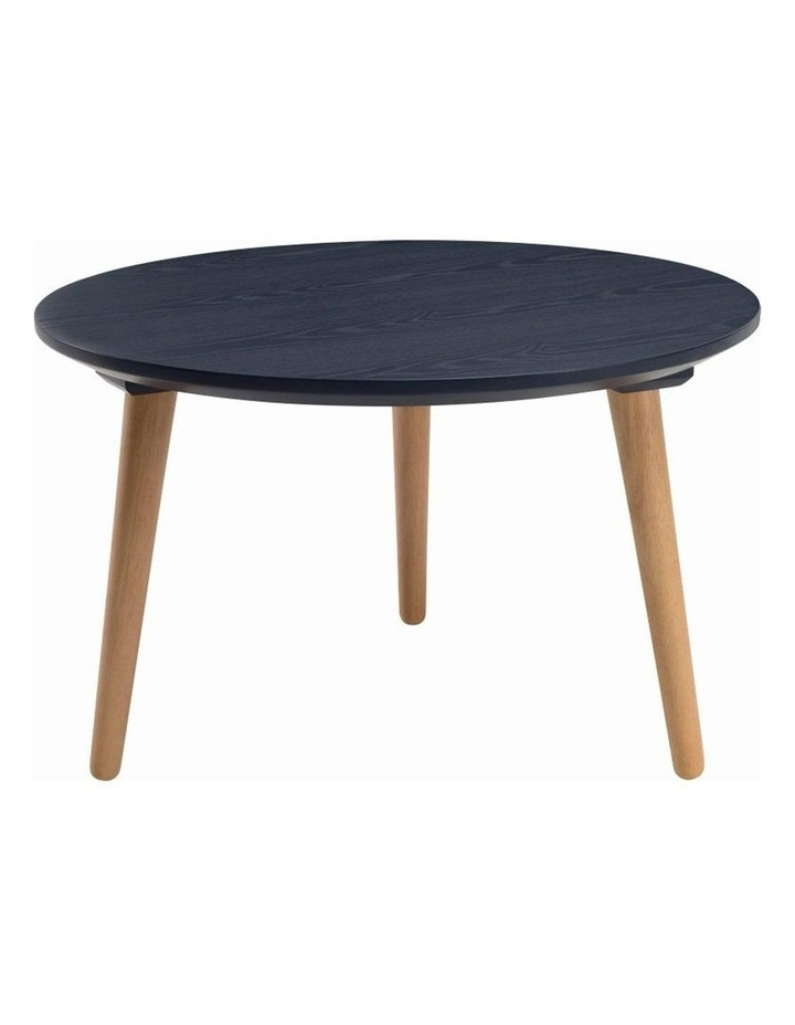 CARSYN Round Coffee Table - Marine Blue image 1
