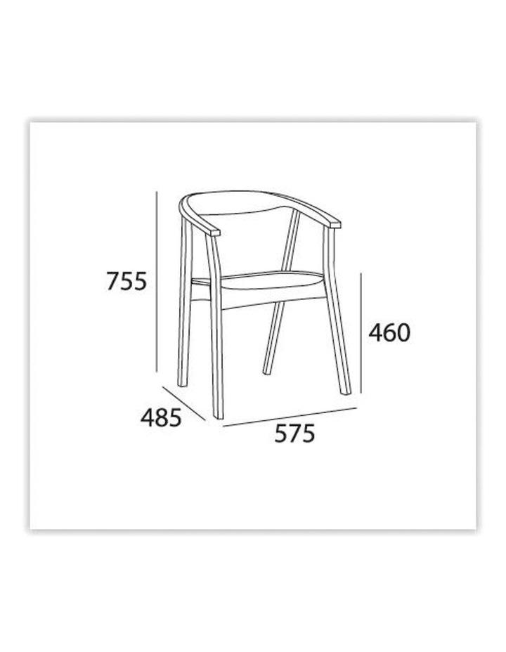 Greta Dining Chair - Cocoa image 3