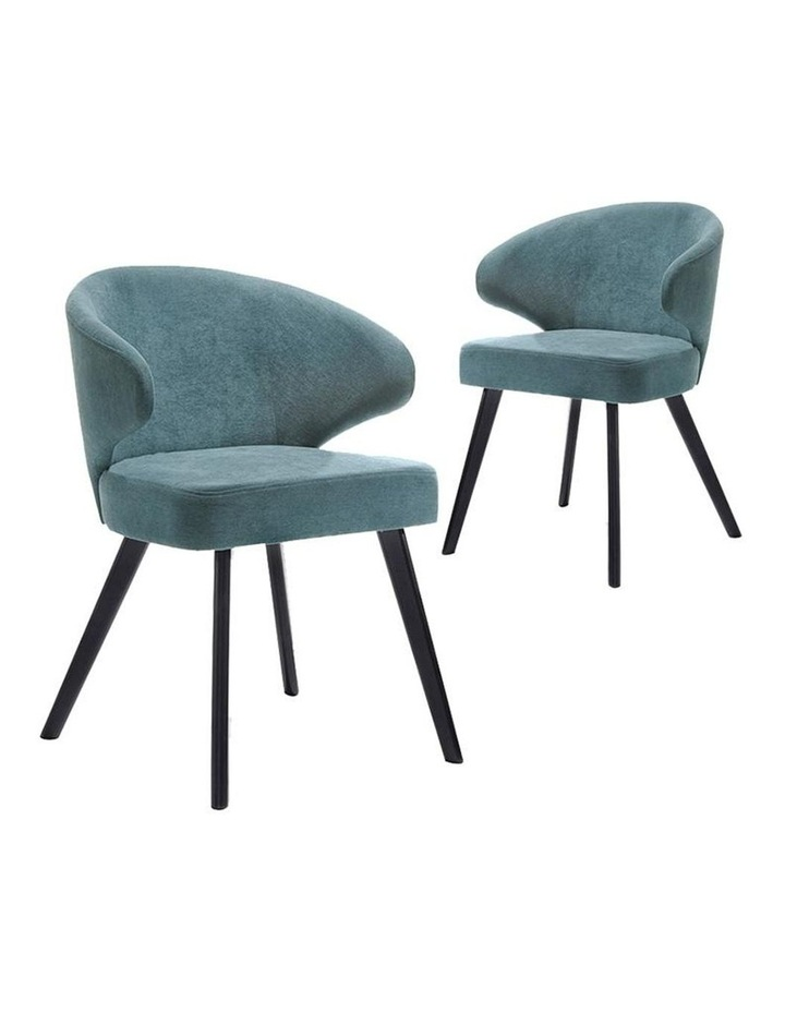 ANNIKA Dining Chair - Teal image 2