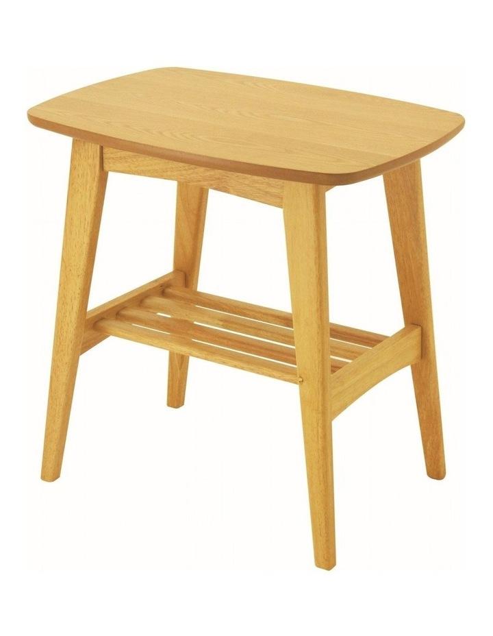 Hubie Side Table - 55cm - Oak image 1