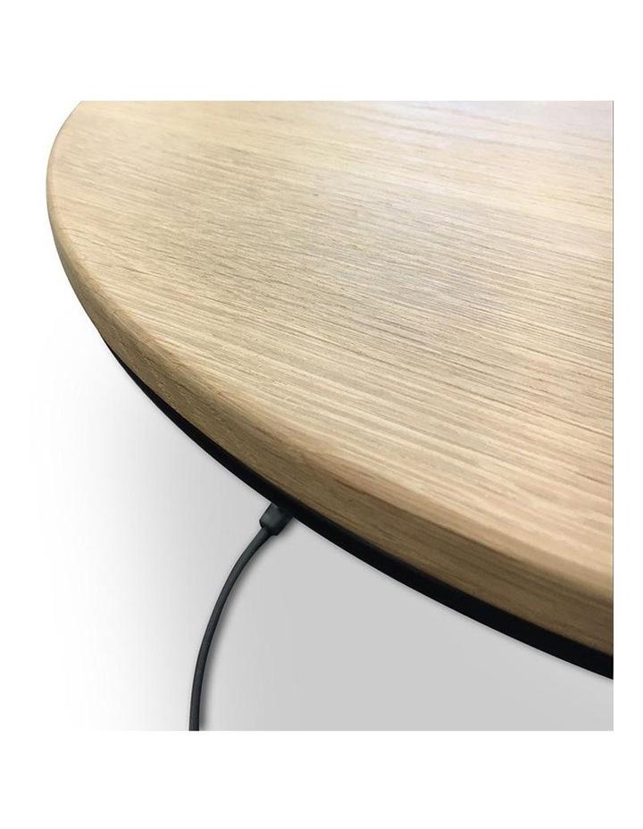 ELIGIO Nest of 3 Tables 50cm - Oak image 5