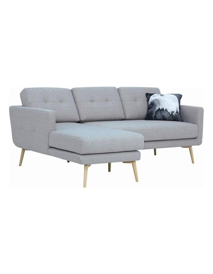 Stream 3 Seater Sofa with Left Chaise - Timberwolf - Royaal Range image 1