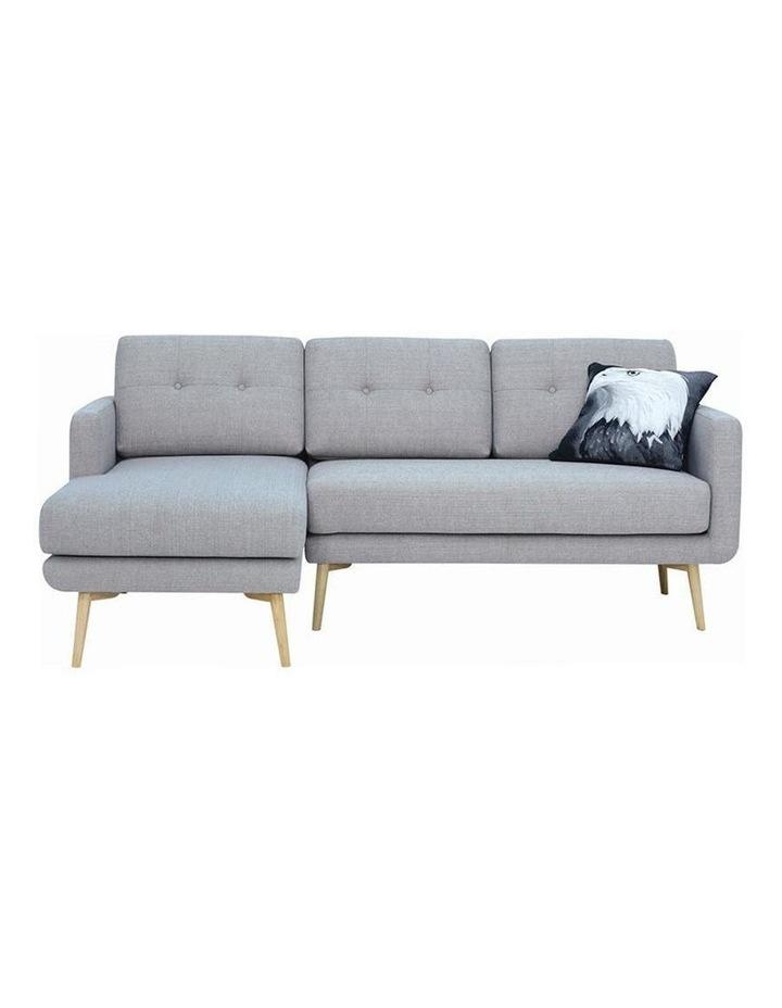 Stream 3 Seater Sofa with Left Chaise - Timberwolf - Royaal Range image 2