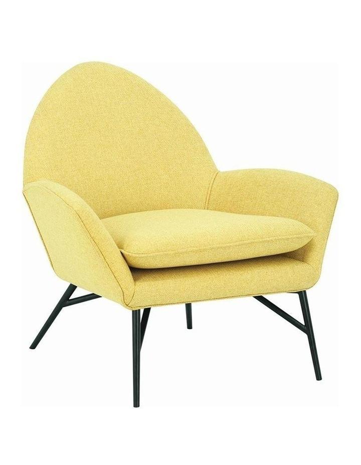Lavinda Lounge Chair - Yellow - Royaal Range image 1