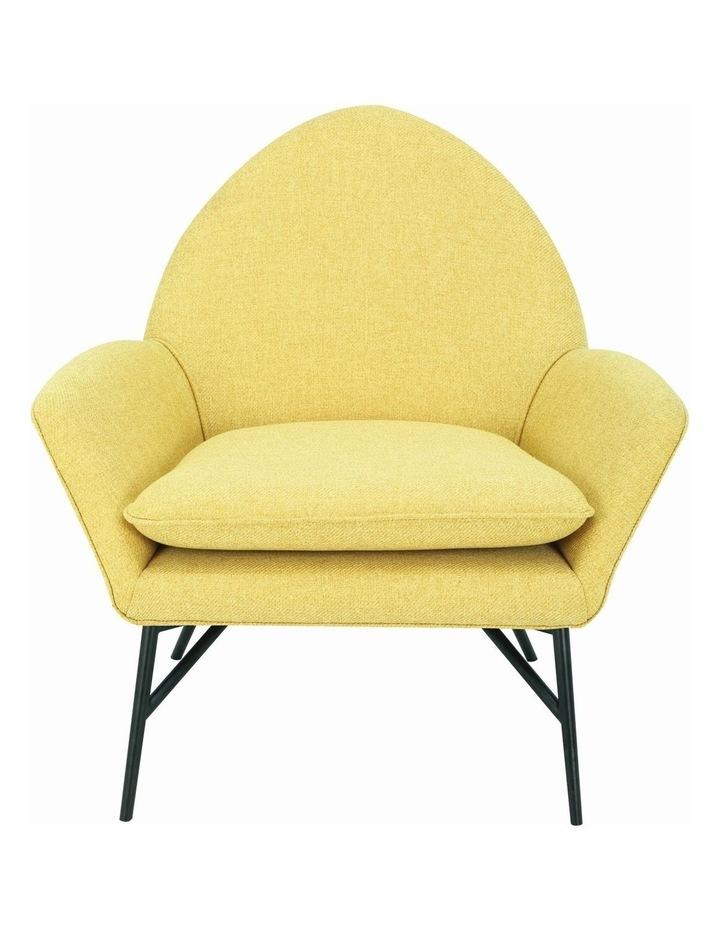 Lavinda Lounge Chair - Yellow - Royaal Range image 2