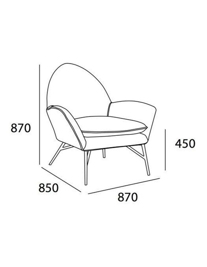 Lavinda Lounge Chair - Yellow - Royaal Range image 6