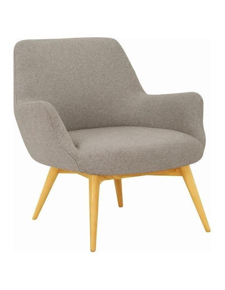 BERLINGO Lounge Chair - Light Grey image 1