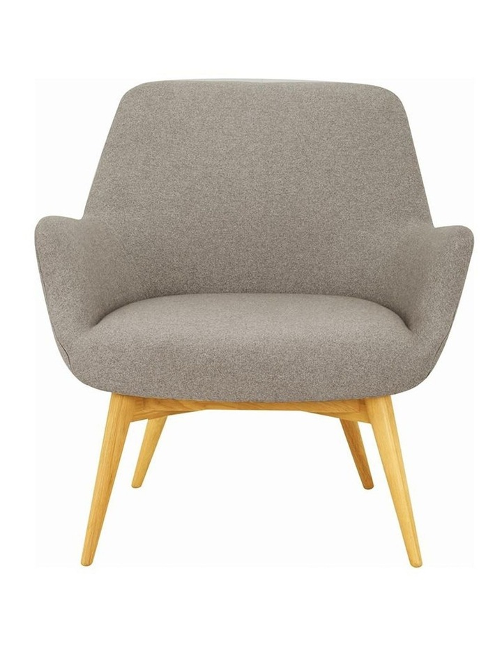 BERLINGO Lounge Chair - Light Grey image 2