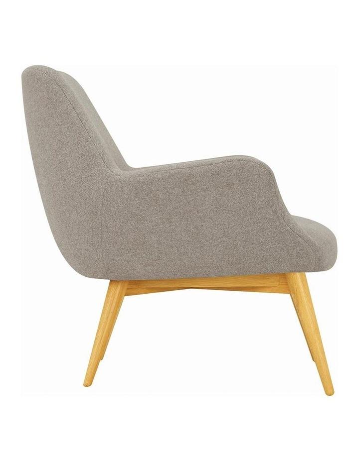 BERLINGO Lounge Chair - Light Grey image 3