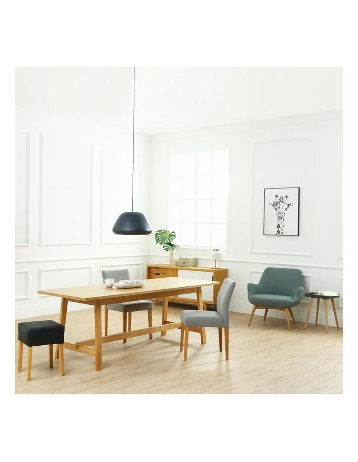 BERLINGO Lounge Chair - Light Grey image 4