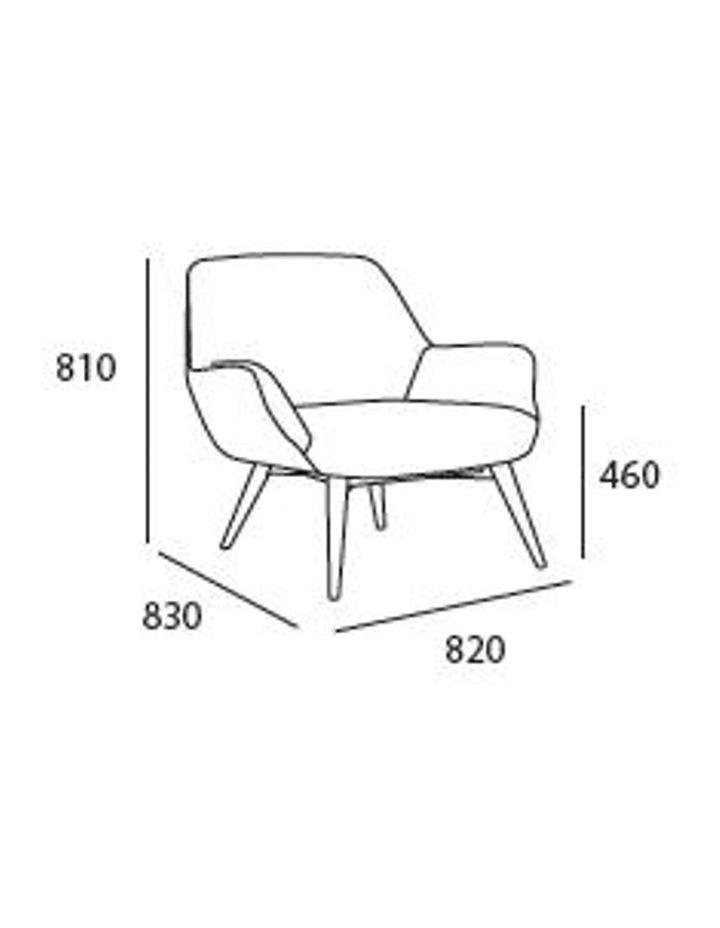 BERLINGO Lounge Chair - Light Grey image 6