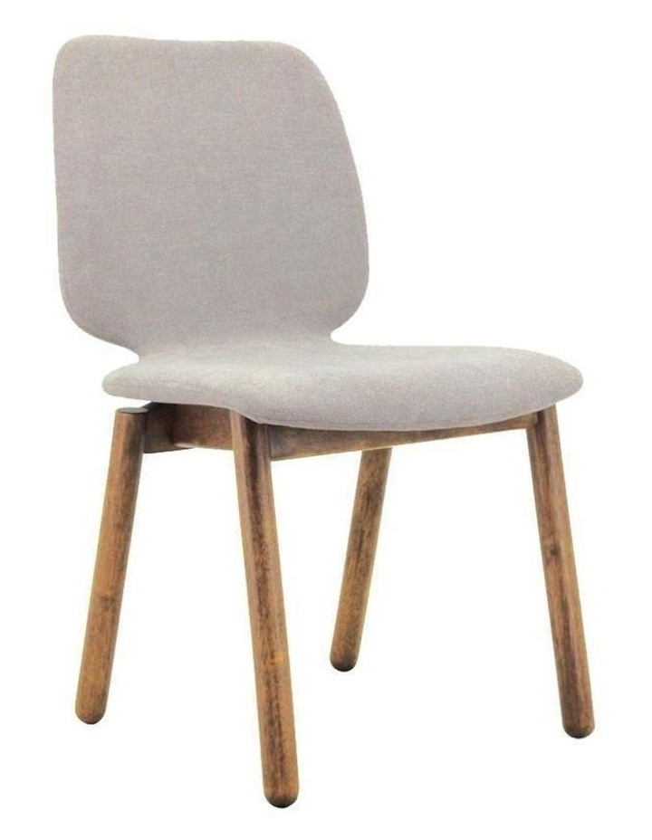Missie Dining Chair - Cocoa   Light Grey image 1