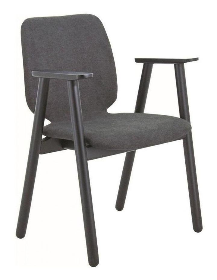 Missie Arm Chair - Black   Dark Grey image 1