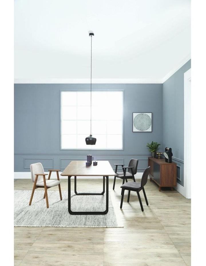 Missie Arm Chair - Black   Dark Grey image 2