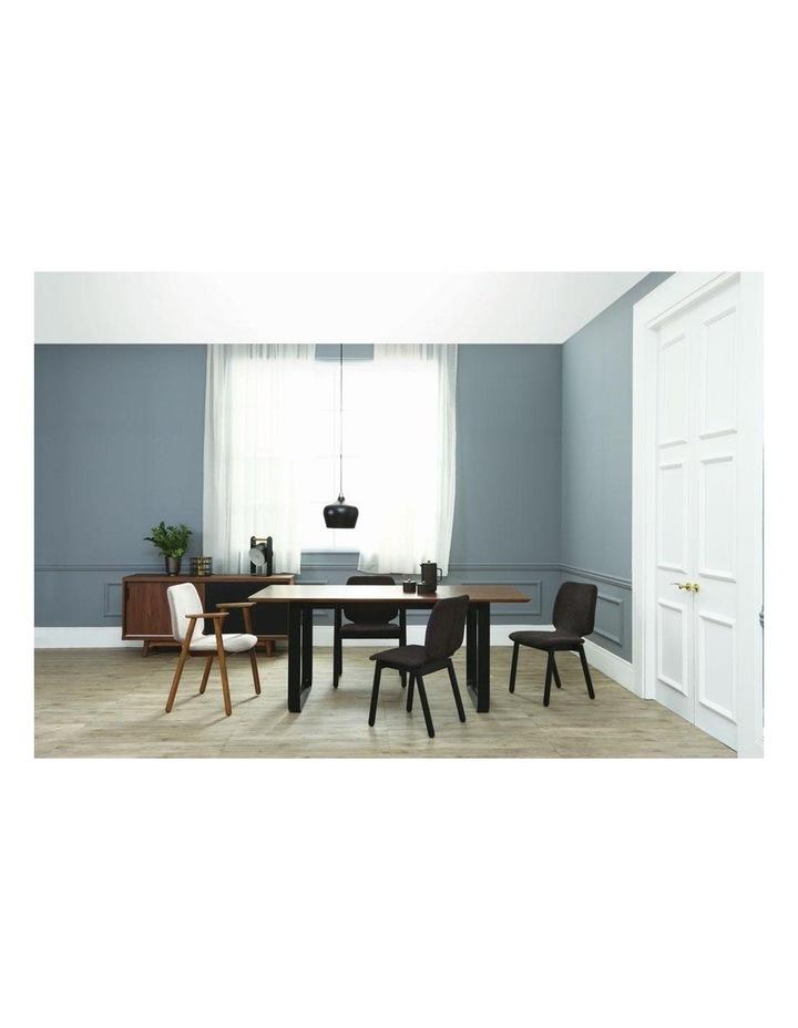 Missie Arm Chair - Black   Dark Grey image 3