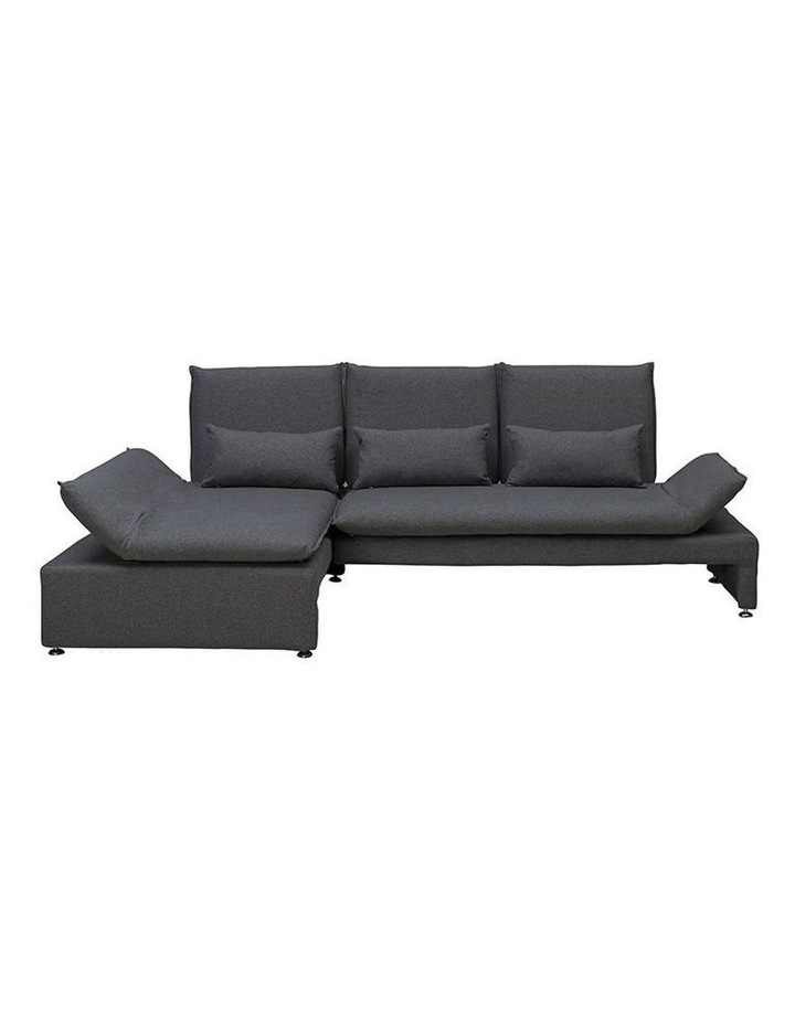 BALTO 3 Seater Sofa  with Left Chaise - Dark Grey image 1