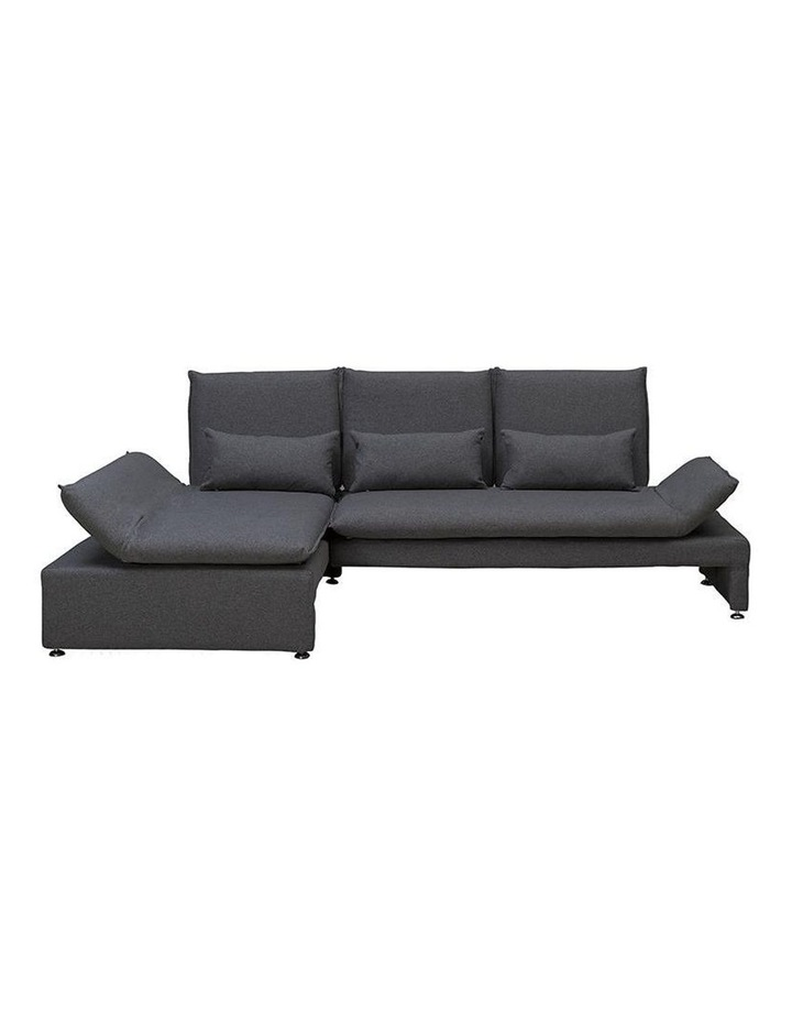 BALTO 3 Seater Sofa  with Left Chaise - Dark Grey image 5