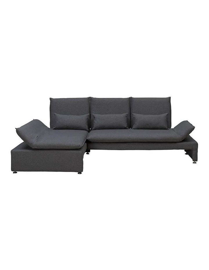 BALTO 3 Seater Sofa  with Left Chaise - Dark Grey image 7
