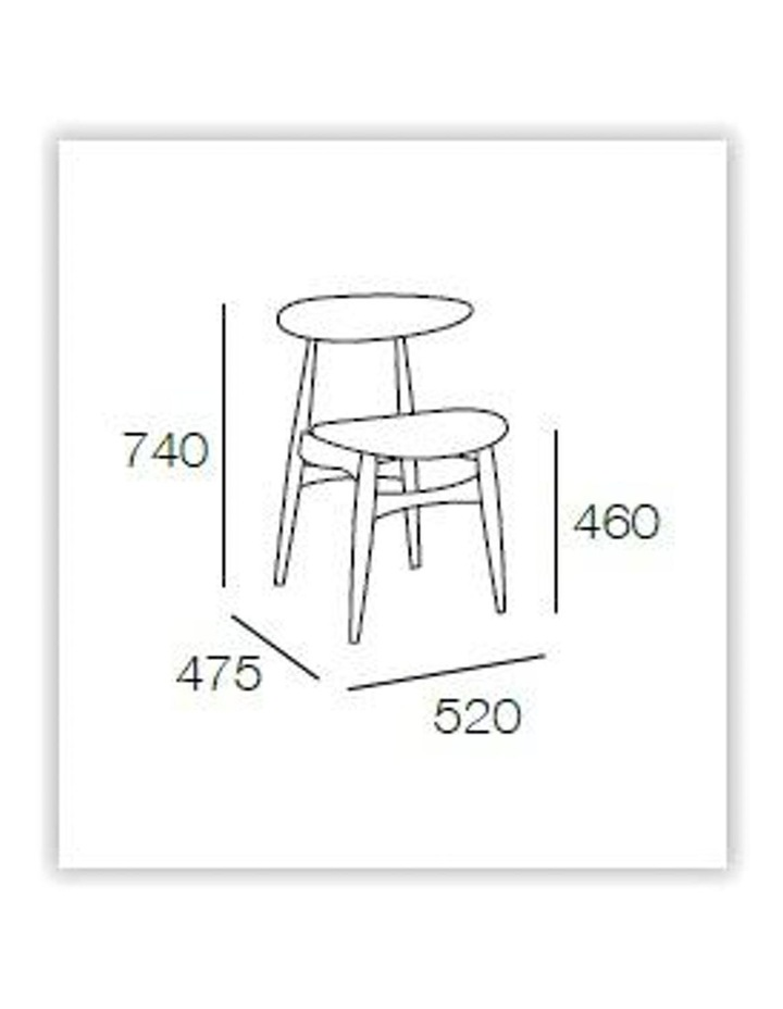 Tricia Dining Chair - White image 2