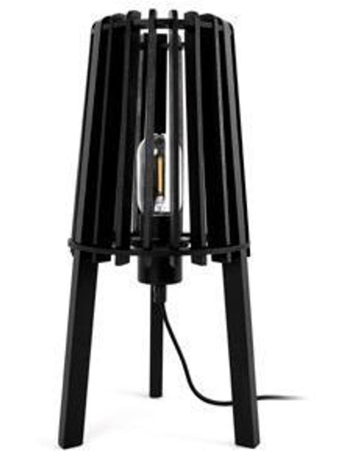 Fidel Timber Floor Lamp 1.3M - Black image 2