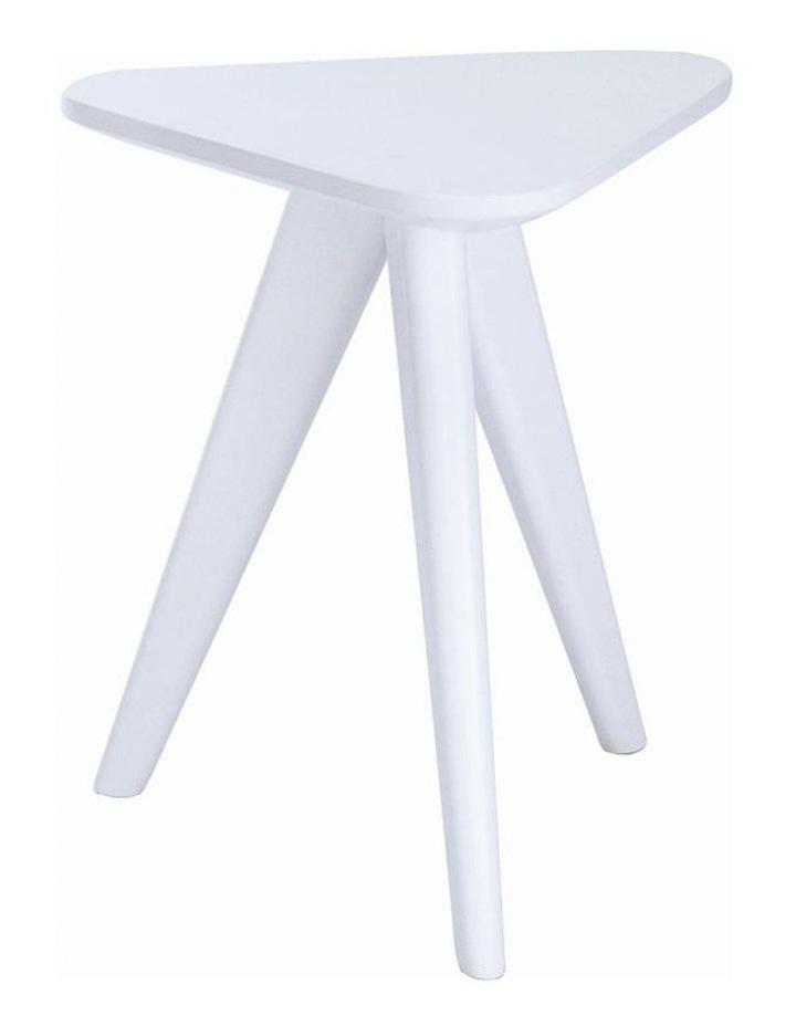 Petite Stool - 47cm - White image 1