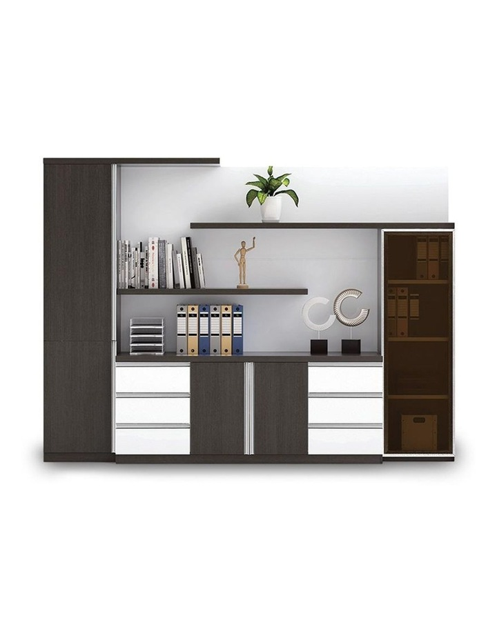 XANDER Display Cabinet 2.8M - Black & White image 1