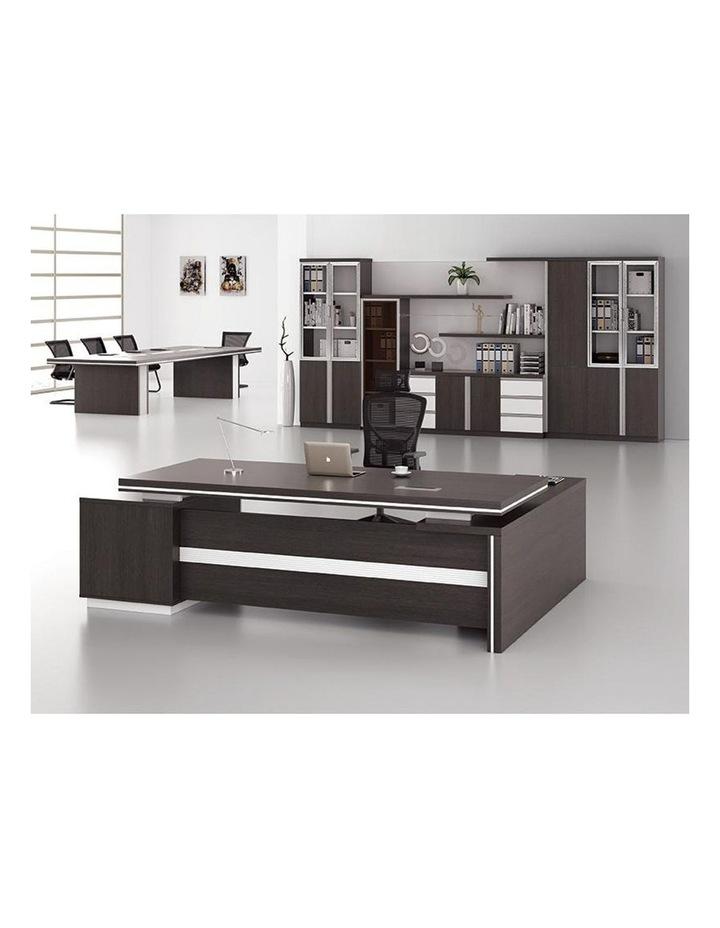 XANDER Display Cabinet 2.8M - Black & White image 2