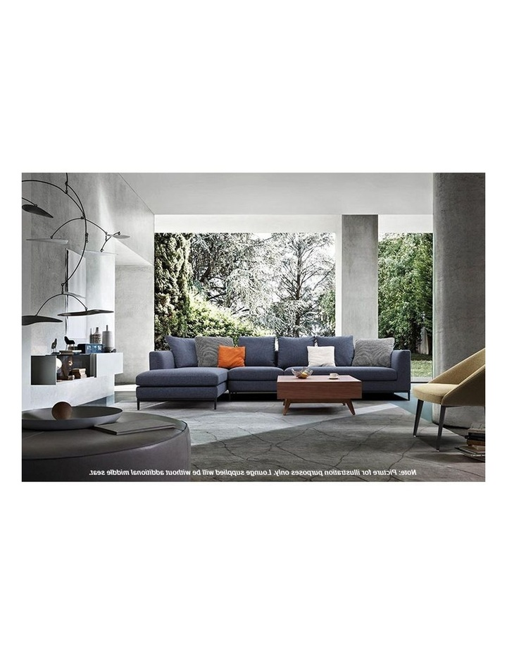 Leland 3 Seater with Left Chaise - Blue image 3