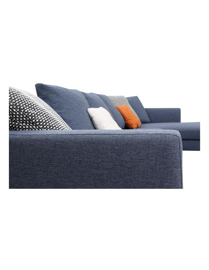 Leland 3 Seater with Right Chaise - Blue image 2